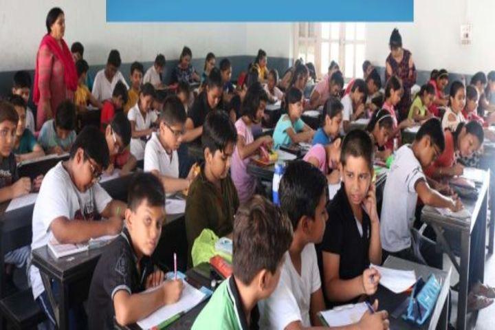 Dav Public School-Slogan Writing Competetion
