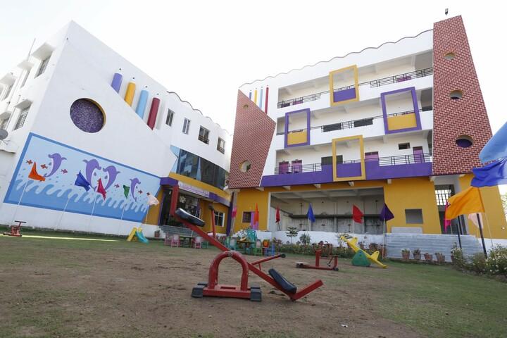 Deeksha International School-Campus View