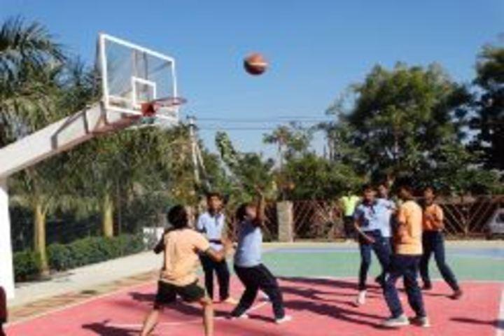 Deeksha International School-Basket ball