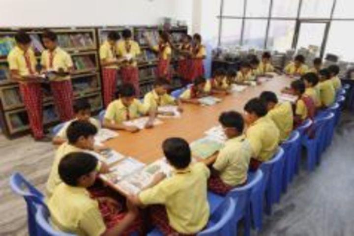 Deeksha International School-Library