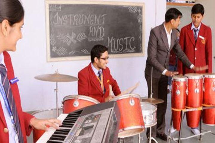 Defence Public School-Instrumental music