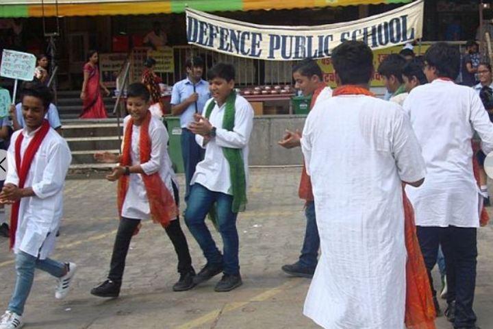 Defence Public School-Swachh Bharat