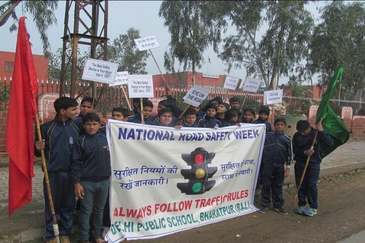 Delhi Public School-National Road Safety Week