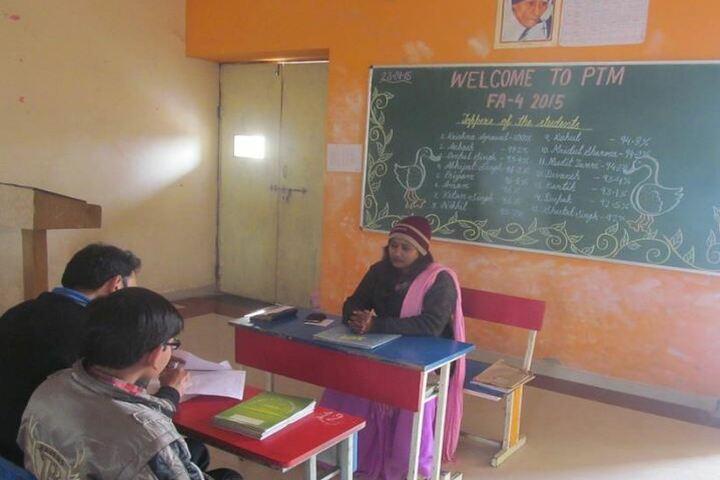 Delhi Public School-Parent Teacher meet