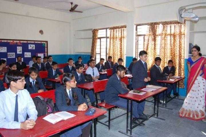 Delhi Public School Jhunjhunu-Class room