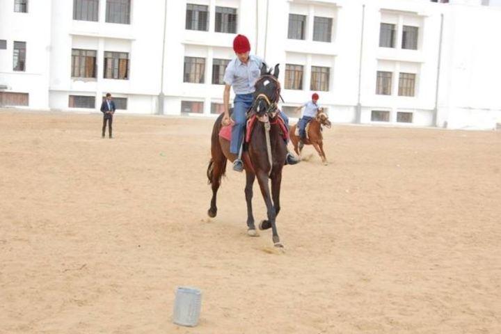 Delhi Public School Jhunjhunu-Horse Riding