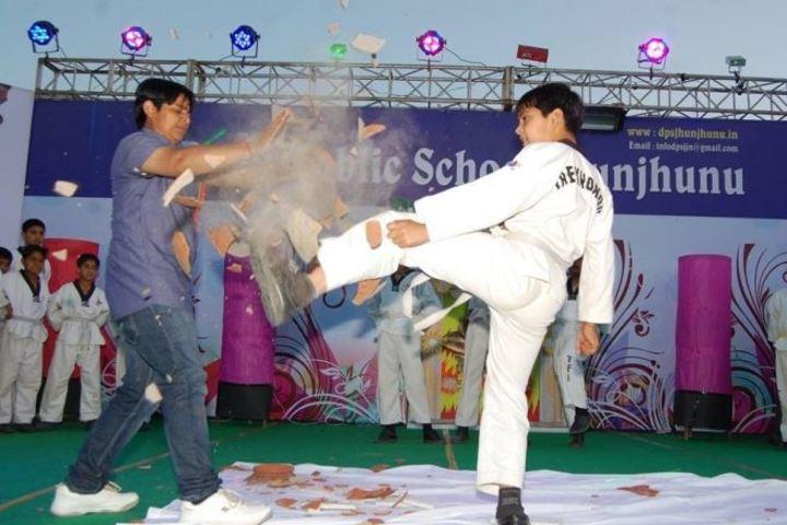 Delhi Public School Jhunjhunu-Karate