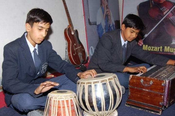 Delhi Public School Jhunjhunu-music Instrument