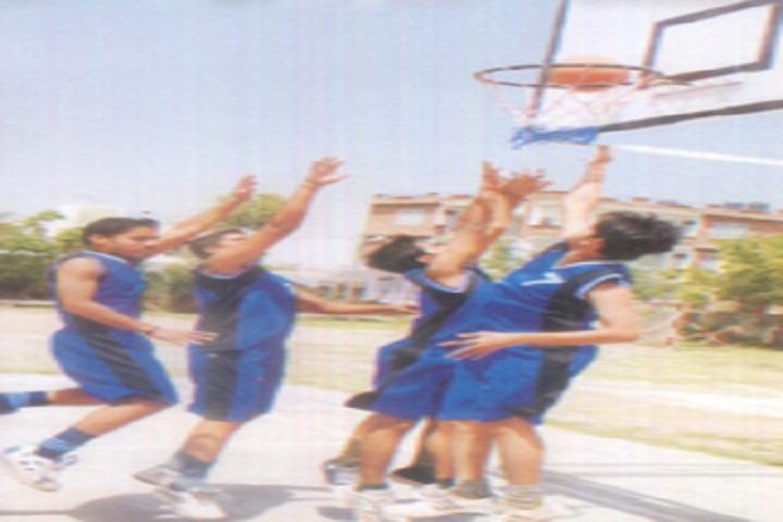 Divine Public Bchool-Basket Ball Court