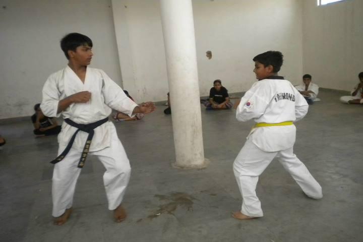 Doon Public School-Karate