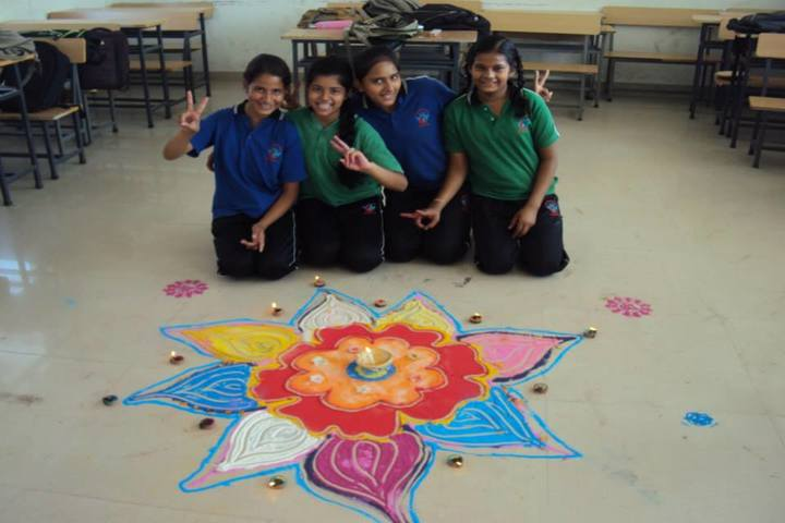 Doon Public School-Rangoli Competition