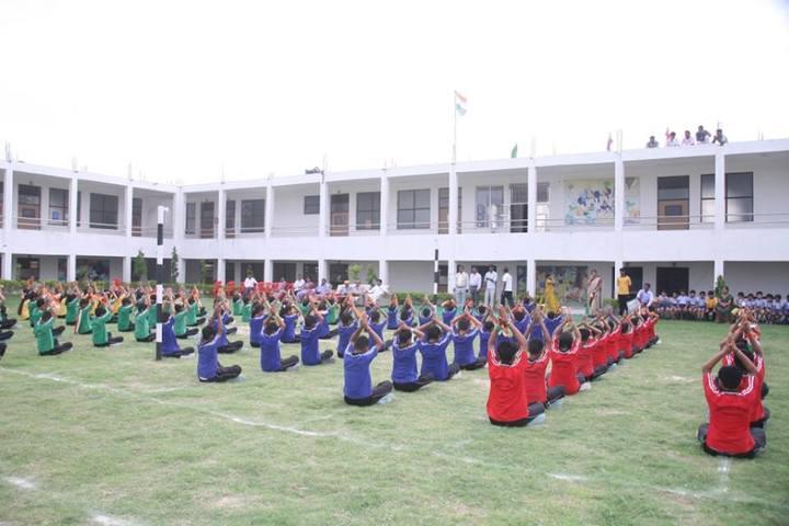 Doon Public School-Yoga Day