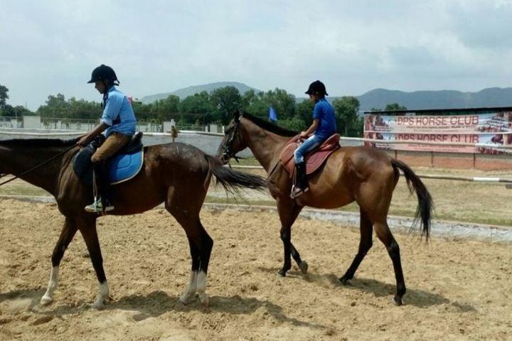 DPS Ajmer Senior Secondary School-Horse Riding