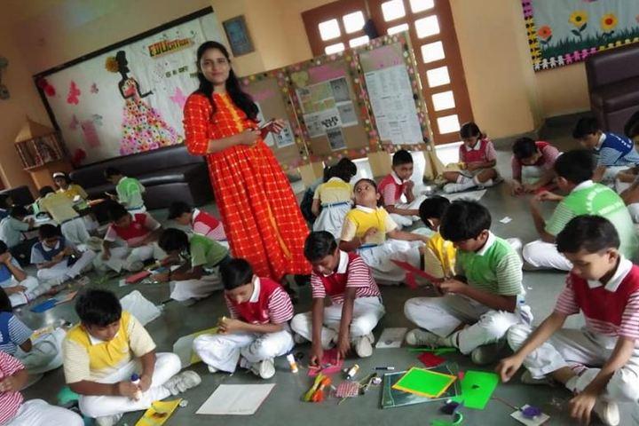 Dr K N Modi Global School-Art and Craft