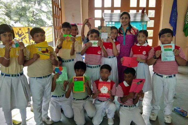 Dr K N Modi Global School-Card Making