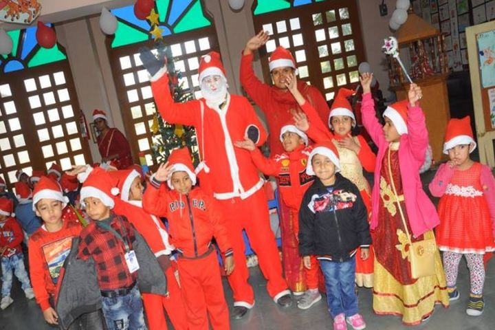 Dr K N Modi Global School-Christmas Celebrations