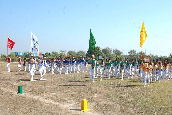 Dr K N Modi Global School-March-Past