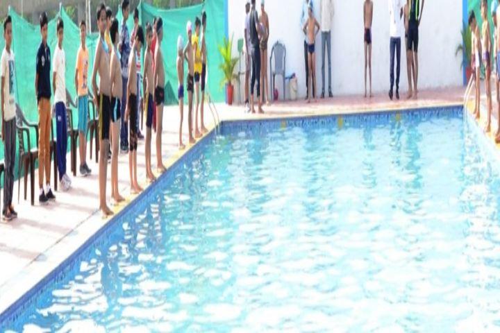 Dr Bansi Dhar School-Swimming pool