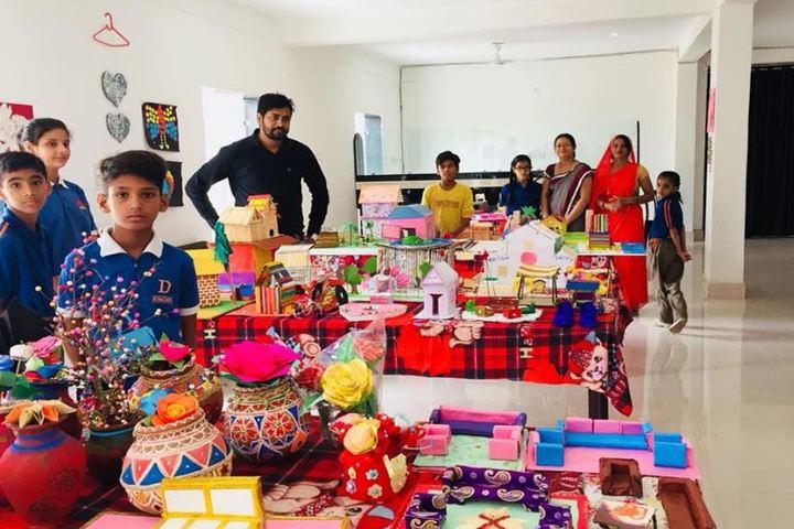 Dronacharya International School-Art Exhibition