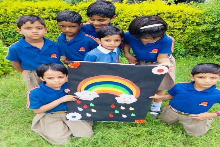 Dronacharya International School-Collage Making