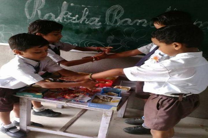 Dronacharya International School-Rakhi Celebrations