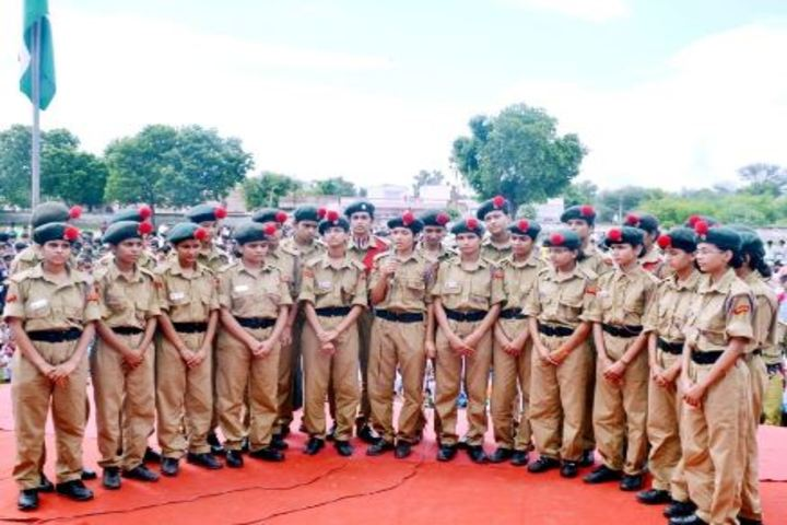 Dundlod Vidyapeeth-NCC and Scouts