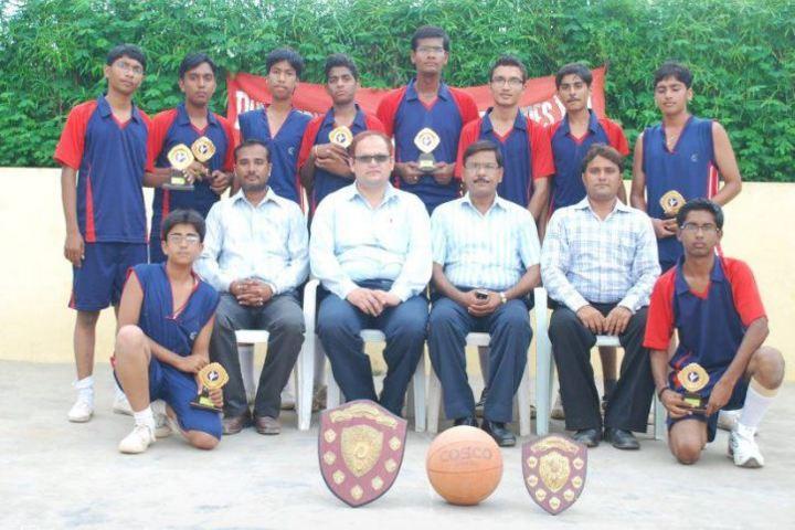 Dungarpur Public School-Basket Ball Winners