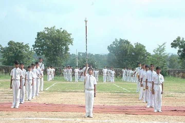 Dungarpur Public School-March Past