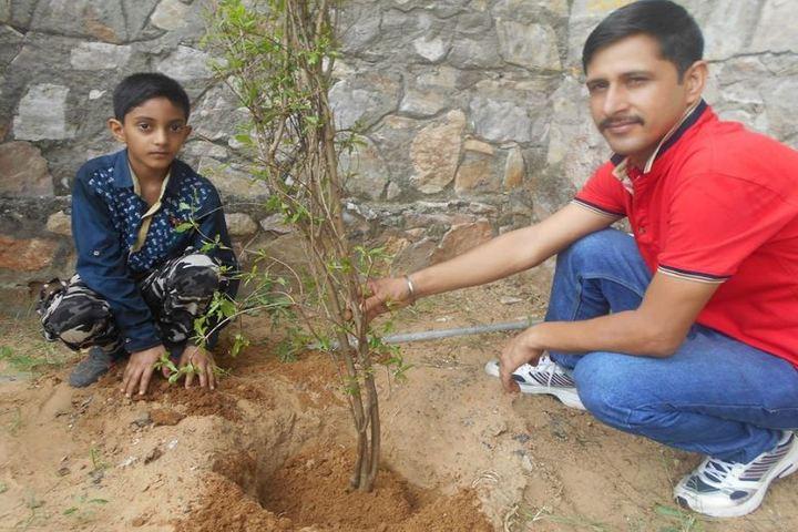 Edify World School-Tree Plantation