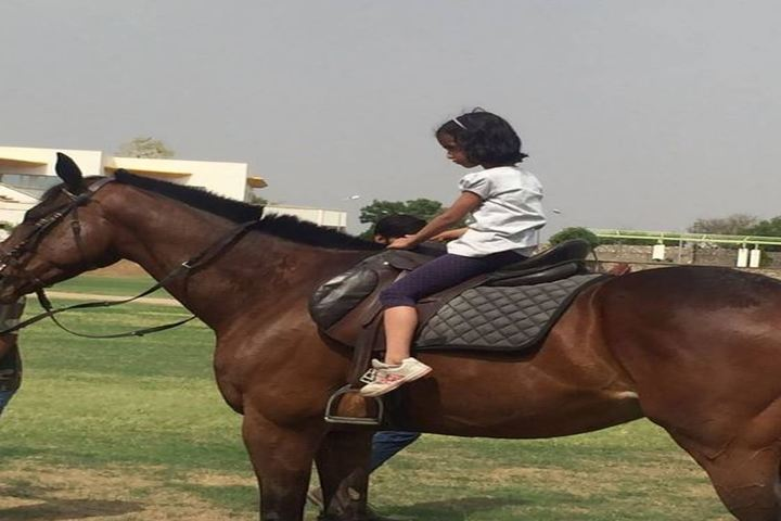 Edify World School-Horse Riding