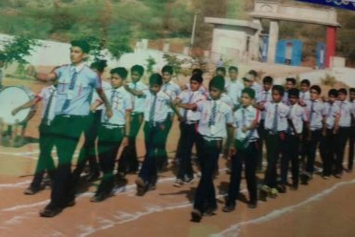 Ekta Public School-March-Past