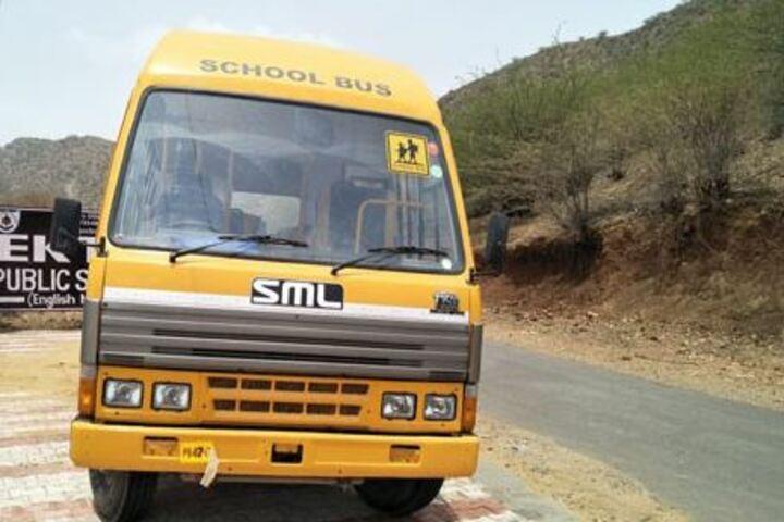 Ekta Public School-Transportation