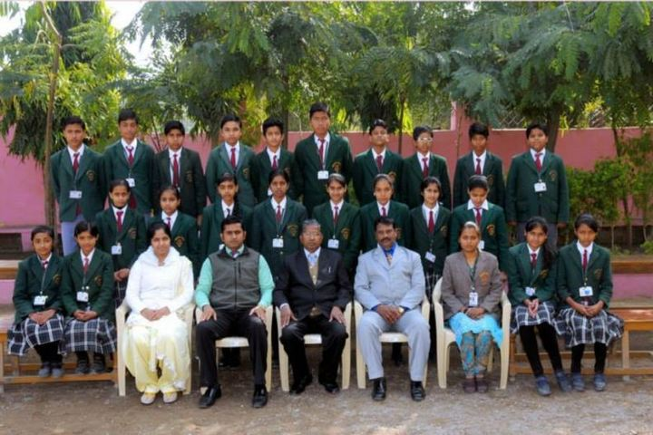 Emmanuel Mission Senior Secondary School- Class Photograph