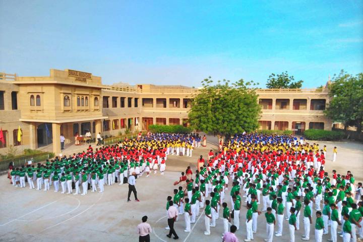 Emmanuel Mission Senior Secondary School-Assembly