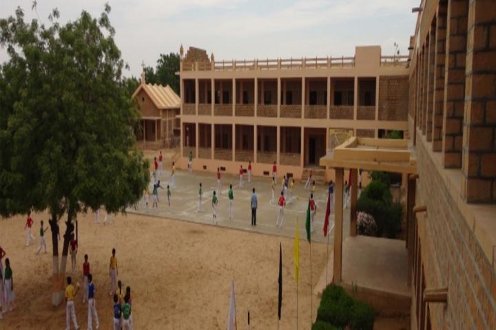 Emmanuel Mission Senior Secondary School- Play ground