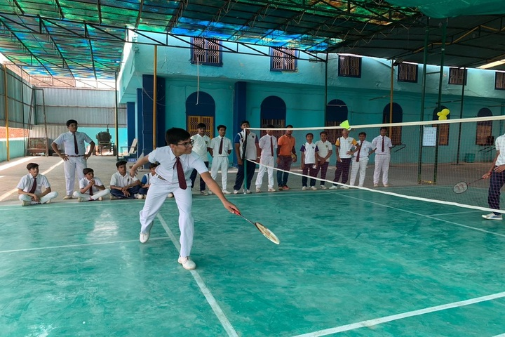 Evergreen Public School-Badminton Tournament