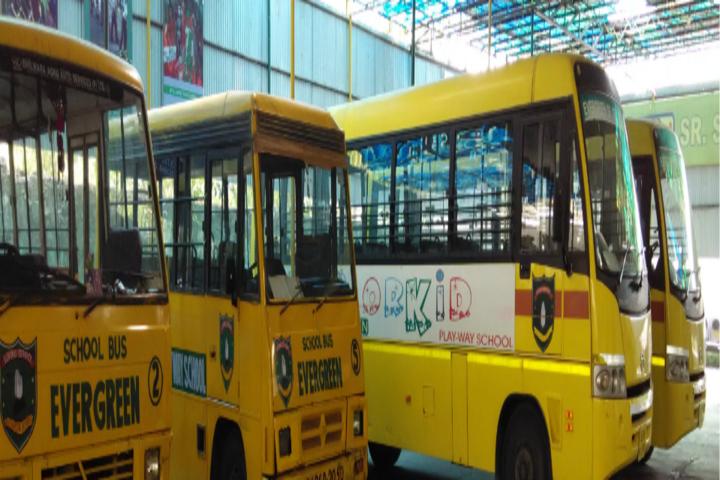 Evergreen Public School-Transport