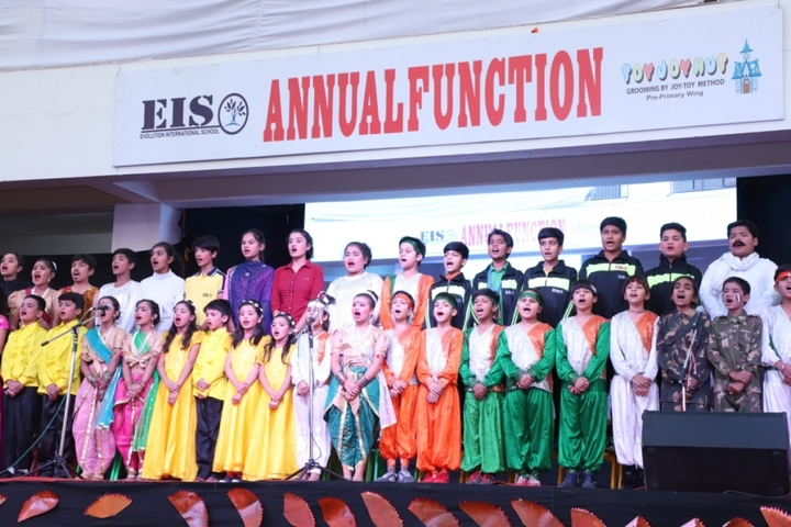 Evolution International School-Annual Function
