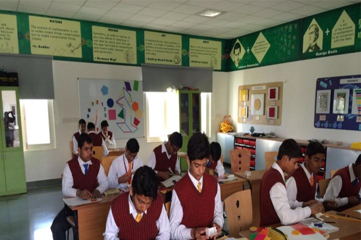 G D Goenka International School-Art and Craft Room