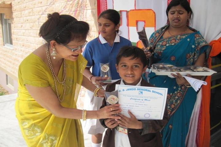 G S Jangid Memorial School-Prize Distribution