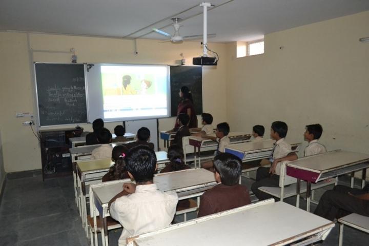 G S Jangid Memorial School-Smart class