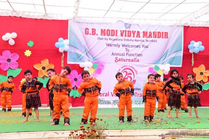 G B Modi Vidya Mandir-Annual Celebrations