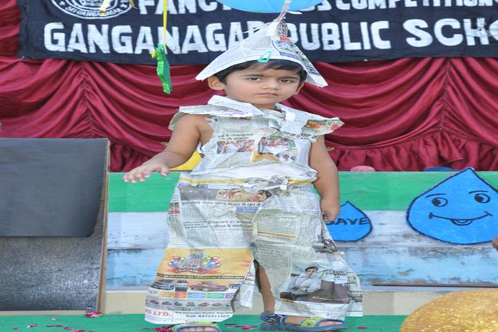 Ganganagar Public School-Fancy dress
