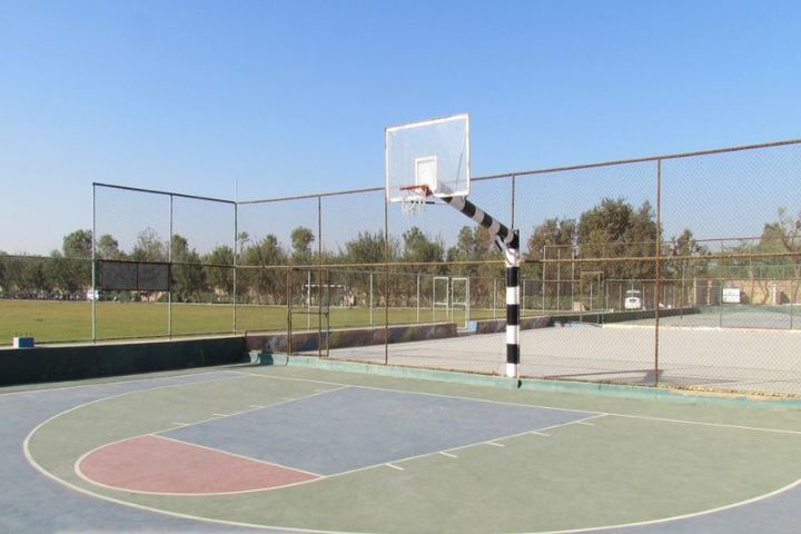 Global Indian International School-Basket Ball Court