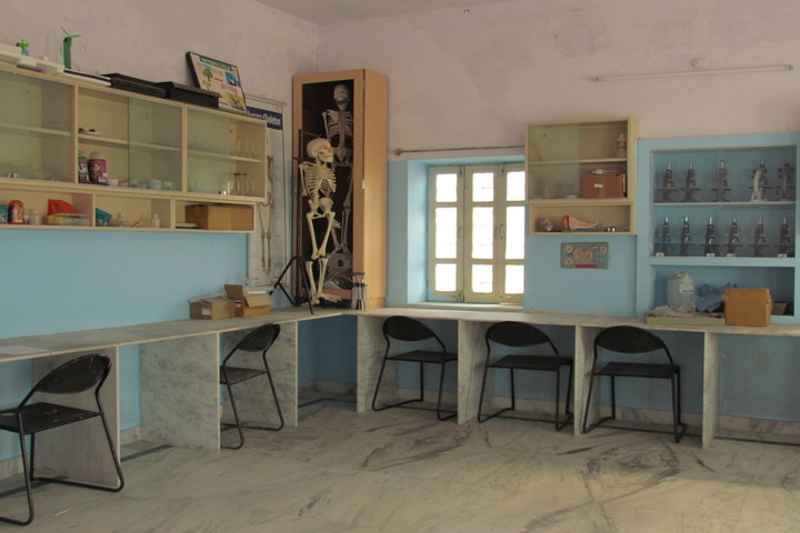 Global Indian International School-Biology Lab