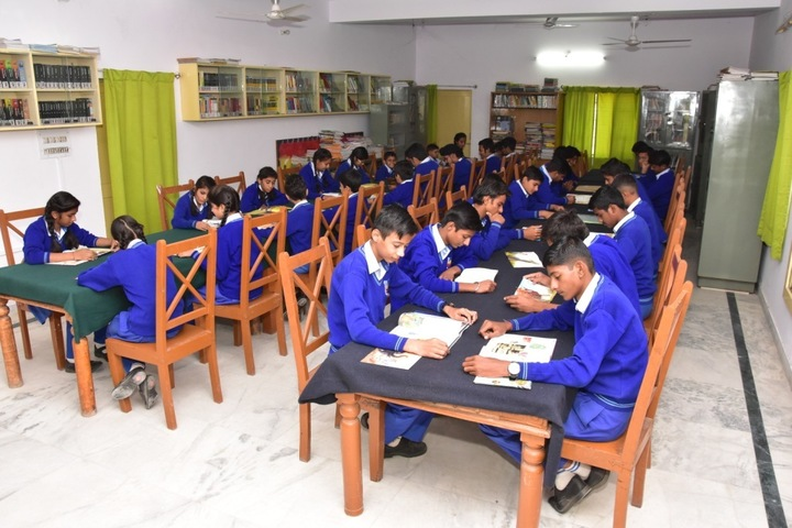 Global Indian International School-Library