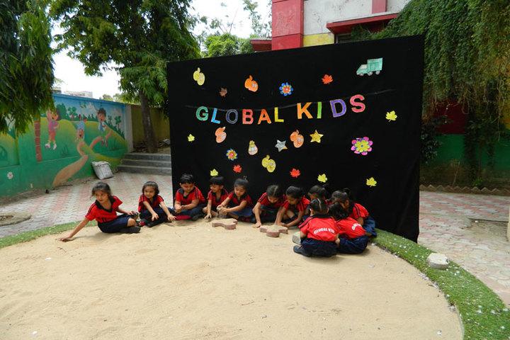 Global Public School-Sand pit