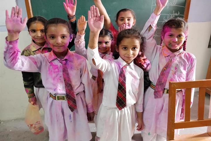 Golden Public School- Holi Celebration
