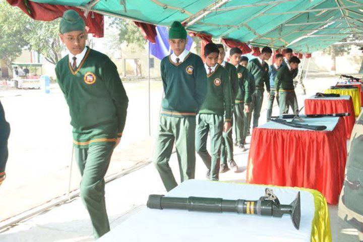 Golden Public School-Weapons Exhibition