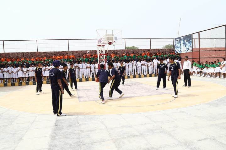 Good Shepherd Public School-Basket ball court